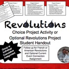 Revolutions Project Cumulative Activity French & American