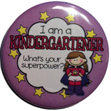 Reward Buttons - I'm a kindergartener. What's your superpo