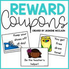 Reward Coupons: Classroom Management Tool