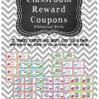 Reward Coupons - Whimsical Birds