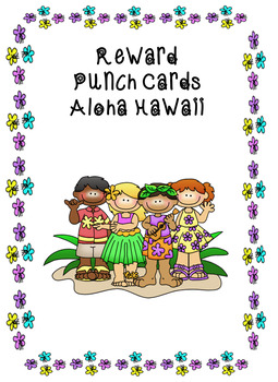 Reward Punch Cards Aloha Hawaii