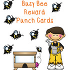 Reward Punch Cards Bees