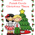 Reward Punch Cards Christmas