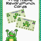 Reward Punch Cards Frogs