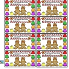 Reward Punch Cards Gingerbread