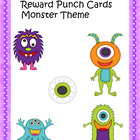 Reward Punch Cards Monsters