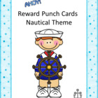Reward Punch Cards Nautical