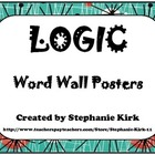 Rhetoric, Reasoning, Logic: Intro to Argument  - Word Wall