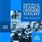 Rhetorical Stance Openers Toolkit