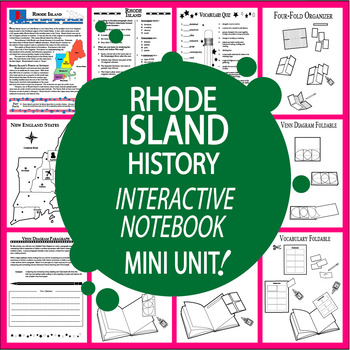 Rhode Island History Lesson-Core Standards