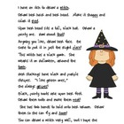 Rhyme & Draw Freebie:  The Witch
