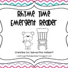Rhyme Time Emergent Reader