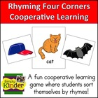 Rhyming Four Corners Cooperative Learning Kagan Structure
