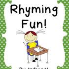 Rhyming Fun! Activity Pack