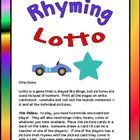 Rhyming Lotto
