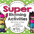 Rhyming {Super Rhyming Activities!}