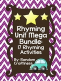 Rhyming Unit Mega Bundle: 17 Rhyming Activities