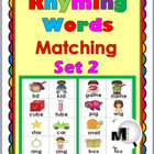 Rhyming Words Matching Activity – Set 2