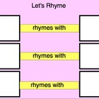 Rhyming - pictures- Autism