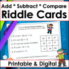 Riddles for Two-Digit Numbers ~ Pirate's Secret Treasure Numbers