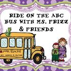 Ride on the ABC Bus with Ms. Frizz