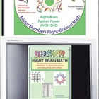 Right Brain Math book and DVD by MisterNumbers