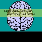 Right Brain/Left Brain Drawing PowerPoint