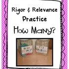 Rigor & Relevance Estimation Container Labels {Freebie}