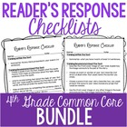 Rigorous Reader's Response Letters {4th Grade Common Core: