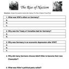 Rise of Nazism notes