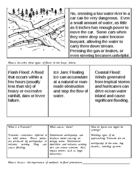 Rivers, Lakes, and Water Quality Unit, HW, Notes, Freebies