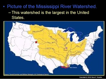 Rivers and Watersheds Unit, Parts of a River, 475 slides,