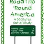 Road Trip &#039;Round America: A States &amp; Capitals Unit