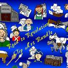 Road to Revolution-Paul Revere Clipart Bundle