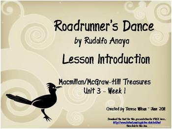 Roadrunner's Dance - Lesson Introduction