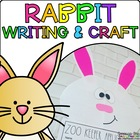 Robby the Rabbit { Animal Craftivity and Writing Prompts! }
