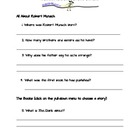 Robert Munsch Internet Scavenger Hunt