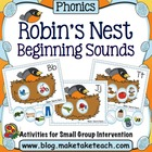 Robin's Nest- Beginning Sounds