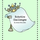 Robot Challenge Card- Let's Rock & Roll!