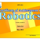 Robotics Award