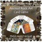 Rock Art Card Game (INCLUDED in Cave Paintings & Petroglyp