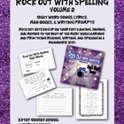 Rock Out With Spelling 2, Sight Word Songs, Mini-books Wri