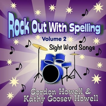 Rock Out With Spelling, Sight Word Songs Volume 2 CD