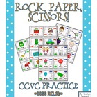 Rock, Paper, Scissors: CCVC Words