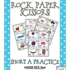 Rock, Paper, Scissors: CVC Short A Words