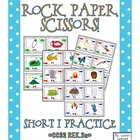 Rock, Paper, Scissors: Short i Words