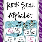 Rock Star Alphabet Posters