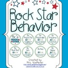 Rock Star Behavior