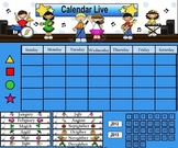 Rock Star Calendar for the Smartboard