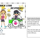 Rock Star Reading Responses